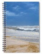 Hurricane Isaac Impacts Navarre Beach Spiral Notebook