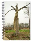 Hurricane Katrina Resurrection Tree Spiral Notebook