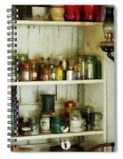 Hurricane Lamp In Pantry Spiral Notebook