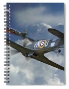 Hurricane Victory Spiral Notebook