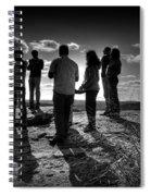 Hurry Sundown Spiral Notebook