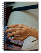 Hurst Shifter And Hand Brake Spiral Notebook