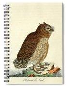 Hutum Owl  Spiral Notebook