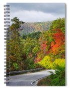 Hwy 281 In The Fall  Spiral Notebook