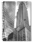 Hyatt And Chrysler Spiral Notebook