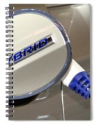 Hybrid Vehicle Recharge Spiral Notebook