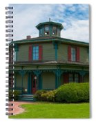 Hyde - Octagon - House 17739c Spiral Notebook