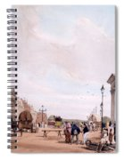 Hyde Park Corner, Looking Spiral Notebook