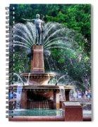 Hyde Park Fountain Spiral Notebook