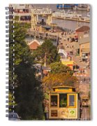 Hyde Street Cable Car Spiral Notebook
