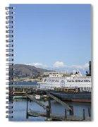 Hyde Street Pier - San Francisco Spiral Notebook