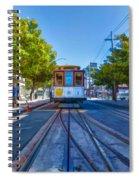 Hyde Street Trolley Spiral Notebook
