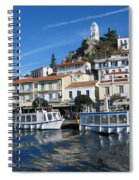 Greek Island Spiral Notebook