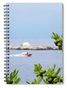 Hydra Island During Springtime Spiral Notebook