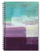 Hydrangea- Abstract Painting Spiral Notebook