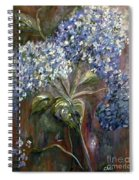 Hydrangea Bouquet At Dawn Spiral Notebook