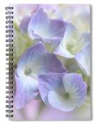 Hydrangea Floral Macro Spiral Notebook