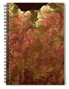 Hydrangea Fractal Blossoms Spiral Notebook