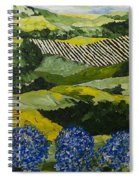 Hydrangea Valley Spiral Notebook