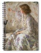 Hydrangeas, 1901 Spiral Notebook