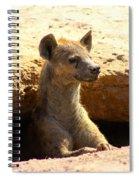 Hyena In Den Spiral Notebook