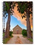 Hygiene Colorado Church Of The Brethren 1880 Sunset Spiral Notebook