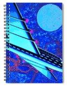 Hyperspace Spiral Notebook