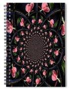 Hypnotic Hearts Spiral Notebook