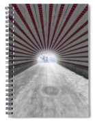 Hypnotic Playmates Arch Spiral Notebook
