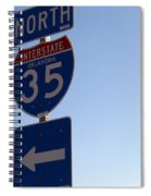 I 35 N. Oklahoma Spiral Notebook