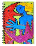 I Am Blue But Still Alive Do Not Eat Me Spiral Notebook