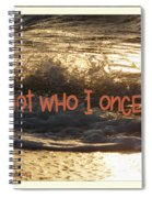 I Am Not Who I Once Was Spiral Notebook