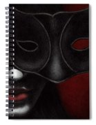 I Am Only What I Allow You To See Spiral Notebook