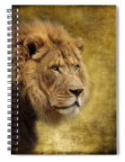 I Am The King Spiral Notebook