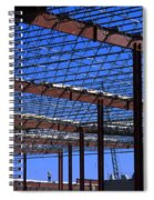 I Beams And Sweat Spiral Notebook