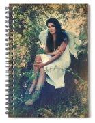 I Believe In Angels Spiral Notebook