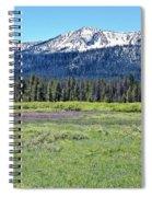 I Break For Wild Flowers Spiral Notebook