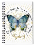 I Can Do Anything I Dream Spiral Notebook