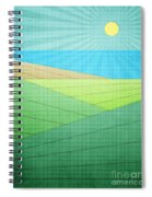 I Can See The Beach Spiral Notebook