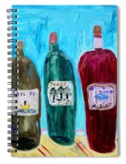 I Choose Wine By The Label Spiral Notebook