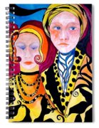 Alone And Together Spiral Notebook