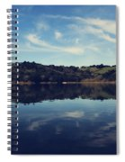 I Float On Anyway Spiral Notebook