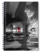I Float On Red Spiral Notebook
