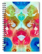 I Found Your Dog - Art By Sharon Cummings Spiral Notebook