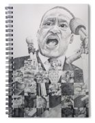 Martin Luther King-i Have A Dream  Spiral Notebook