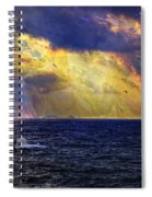 I Have Seen Fire And I Have Seen Rain Spiral Notebook