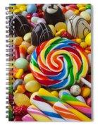 I Love Candy Spiral Notebook
