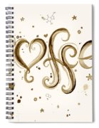 I Love Coffee Spiral Notebook