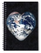 I Love Earth Spiral Notebook