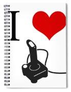 I Love Games Spiral Notebook